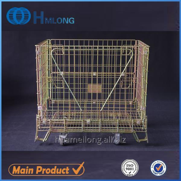Kup teď F-1 Warehouse storage steel mesh cage for wine industry
