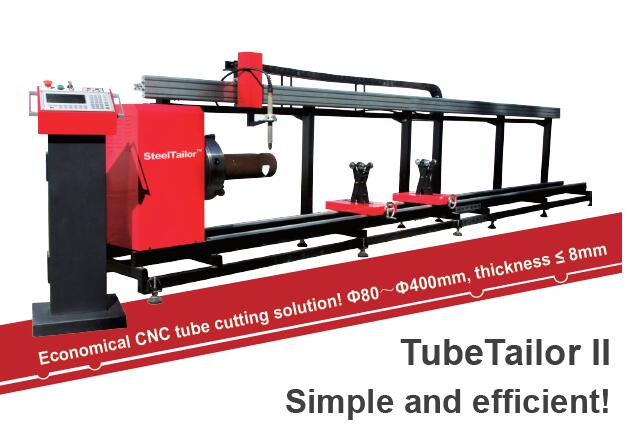 TubetailorII CNC tube/pipe cutting machine