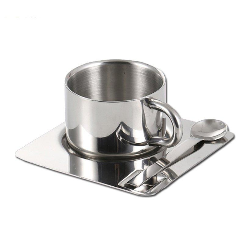 购买 Stainless Steel Coffee Cup Set