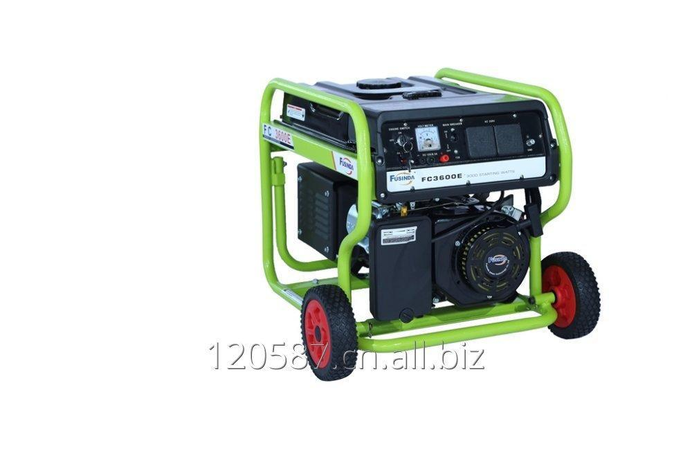 购买 New, Fusinda 3kVA Electric Start Gasoline Potrol Generator with CE, ISO9001