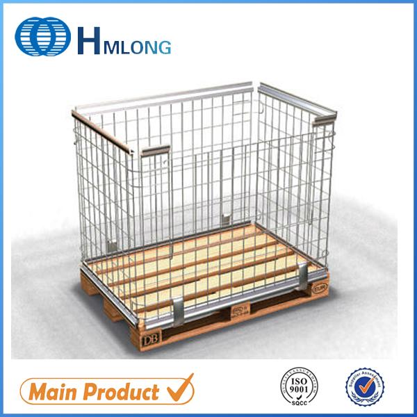 Купить NF-1 Порошковое покрытие сборно-разборные стальные поддоны клетка