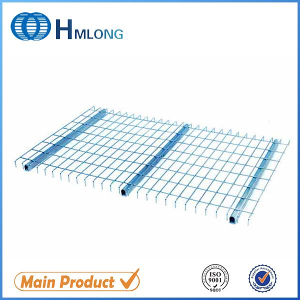 Buy Inverted U channel Step beam warehouse storage wire mesh racking steel decking