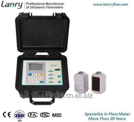 Transit-time portable ultrasonic flow meter energy measurement