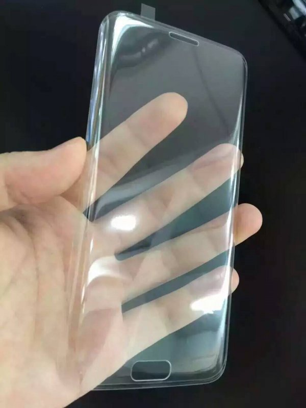Купить Handphone изогнутый закаленное стекло экрана Защитная пленка для Samsung S6 / S6 края края Плюс / край S7 / S7