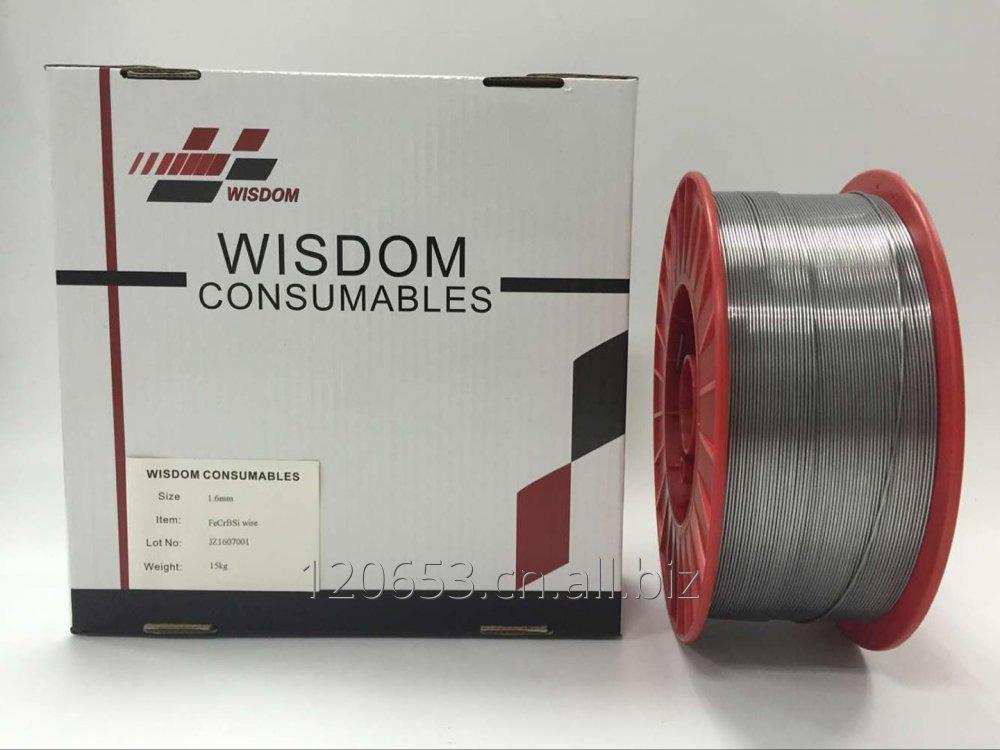 购买 FeCrBSi cored wires (powder-filled) for thermal spraying, equal to TAFA 95 MXC, Armacor M