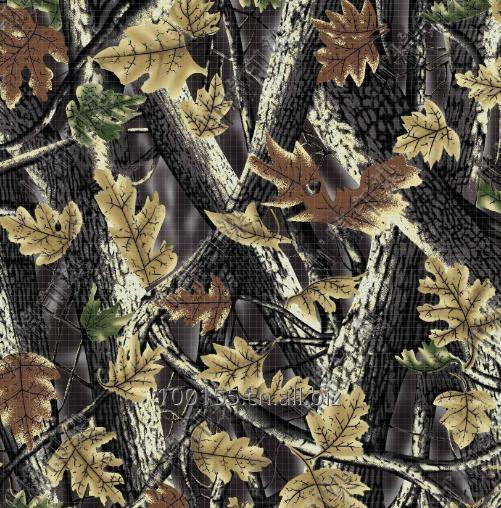 购买 Camouflage printing T/C twill