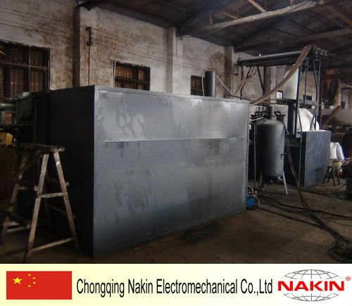 JZC-2 2 Tons Vacuum Engine Oil Distillation Plant for Recycling Black Oil