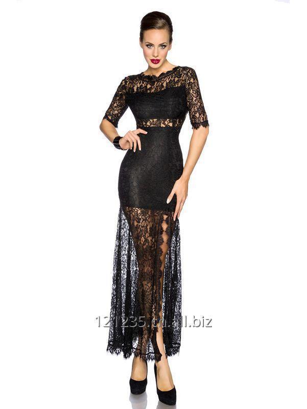 购买 Sexy Black Bodycon Lace Dress