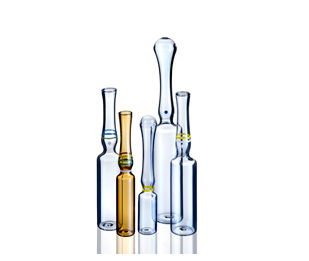 购买 Indian standard, YBB and GMP and ISO standard USP type1 OPC with blue point type B 1ml clear glass ampoule