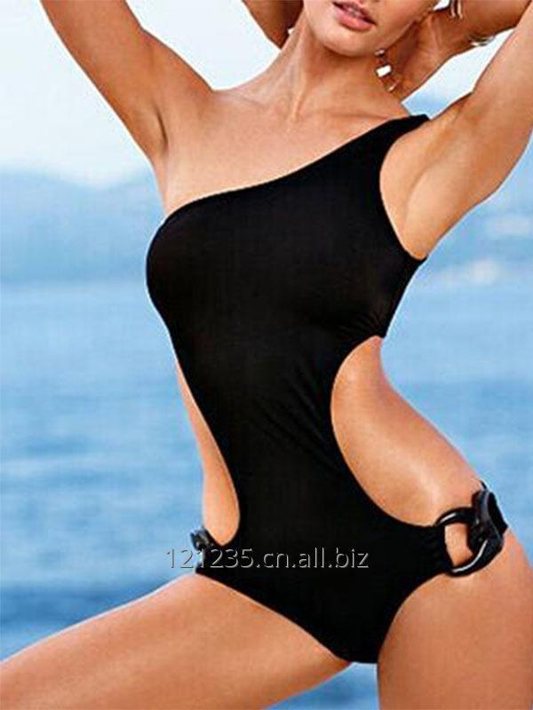 Women Black Summer One Piece Swimwear Sexy