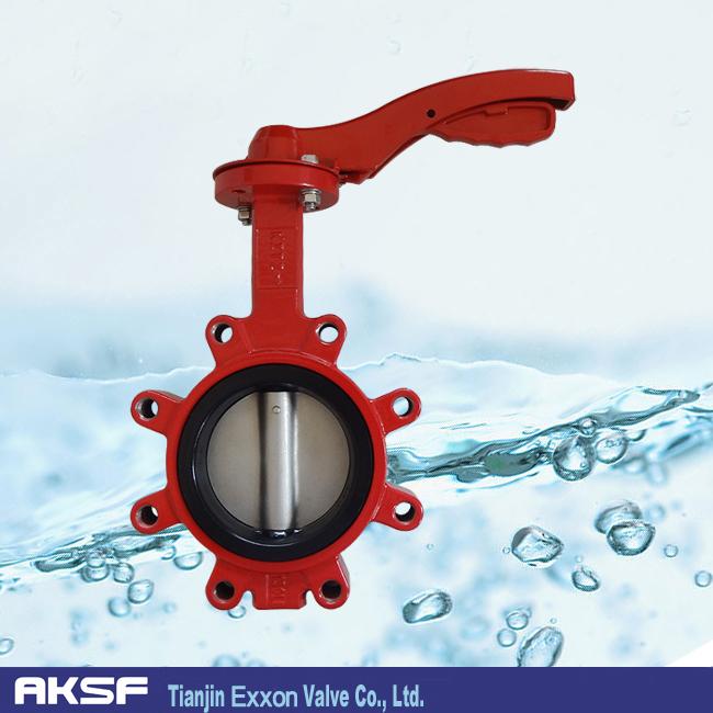 购买 Casting Iron wafer Tianjin butterfly valve