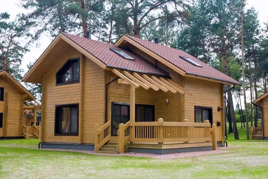 购买 豪华木质小别墅