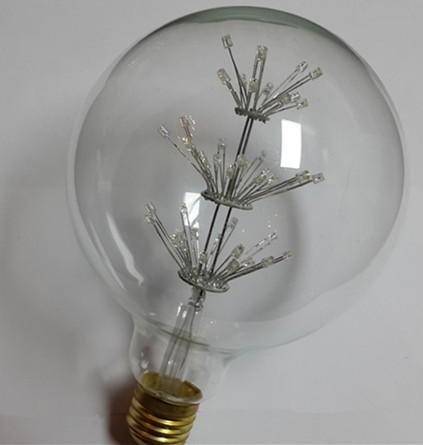 Buy G125-47 led star light 100-120V, 220-240V Lamp 2400K LED