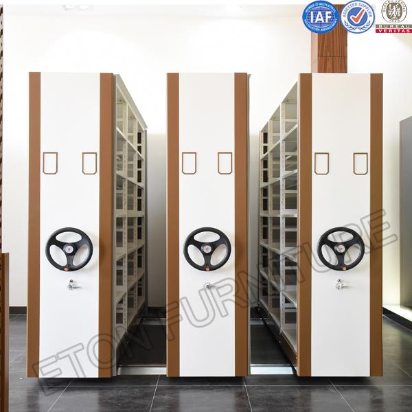 购买 Mobile Steel Library Compact Shelves