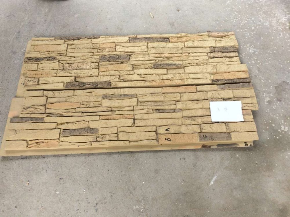 购买 PU faux stone panel