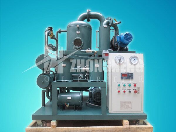 Buy Double-Stage Highly Effective Vacuum Insulating Oil Purifier Series ZYD