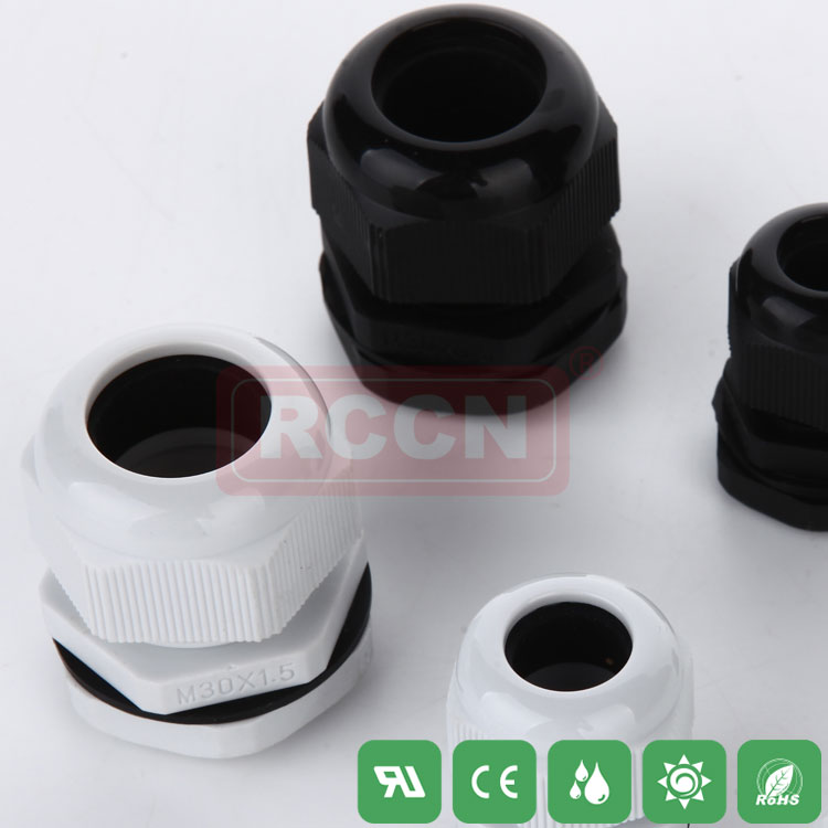Nylon cable gland metric waterproof