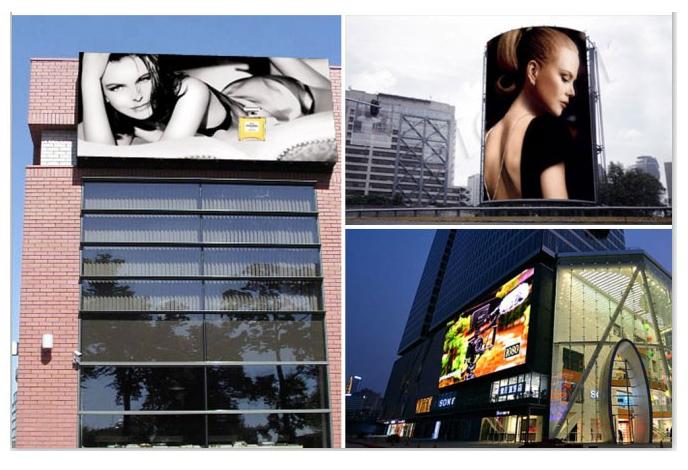 购买 P10 outdoor multi color advertising led billboard