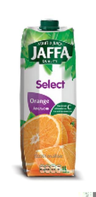 Jaffa 100% ukrainian Orange nectar 1L.