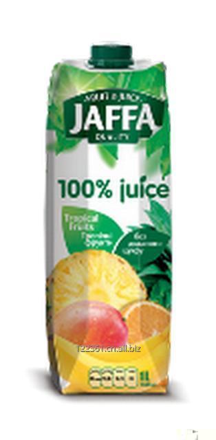 Juice 100% Jaffa. Multifruit 1L. Origin - Ukraine