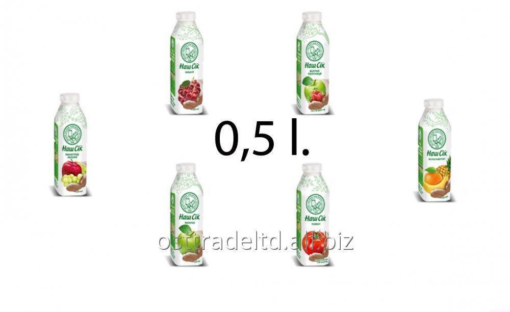"购买 Juice ""Nash Sok"" 0,5l GLB"