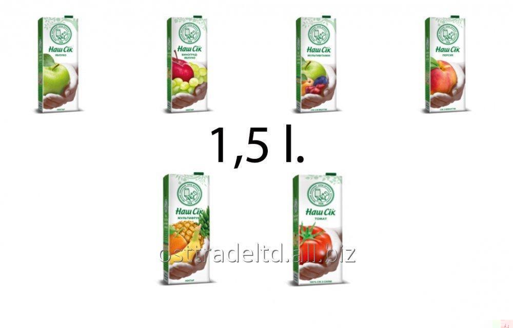 """Juice """"Nash Sok"""" 1,5L TBA"""