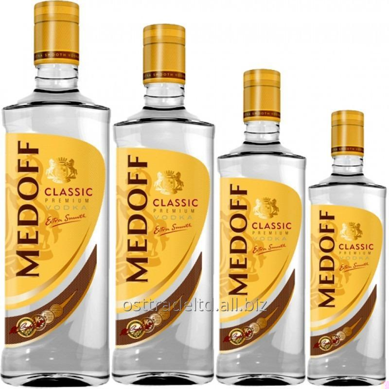 "购买 Vodka ""Medoff Classic"" (0,2 0,35 0,5 0,7 1 L.) Ukraine."