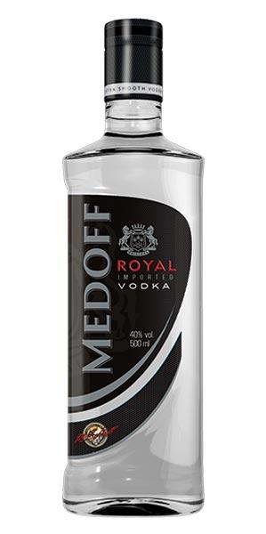 """购买 Vodka """"Medoff Royal Vodka"""" (0,2 0,5 0,7 1 L.) Ukraine."""
