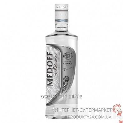 "购买 Vodka ""Medoff Platinum Vodka"" 0,5L. Ukraine."
