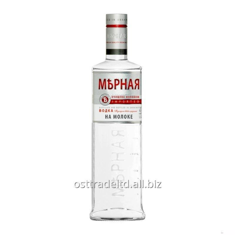 "购买 Vodka ""Mernaya On Milk Vodka"" (0,2 0,5 0,7 0,75 1,0 L.) Ukraine."