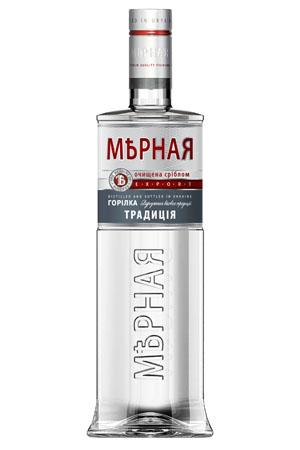 """购买 Vodka """"Mernaya Tradition Vodka"""" (0,2 0,5 0,7 0,75 1,0 L.) Ukraine."""