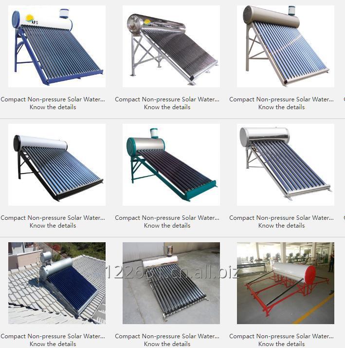 购买 Compact Non-pressure Solar Water Heater