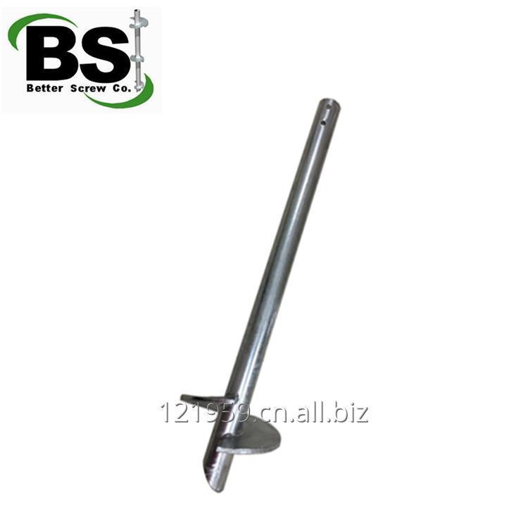 购买 Galvanized square shaft helical pile