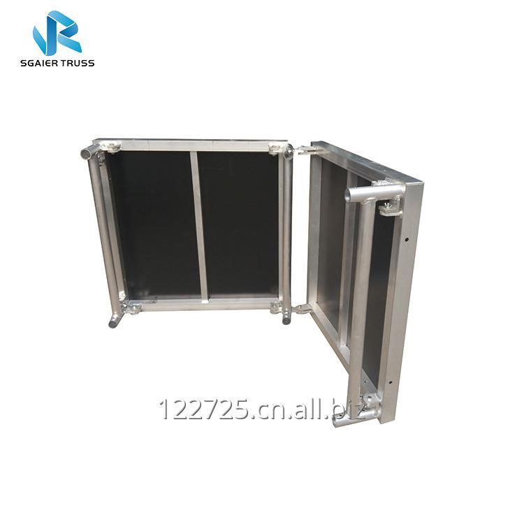 Buy NightClub KTV Bar DJ Booth with Portable Design and Customized Logo and Colour