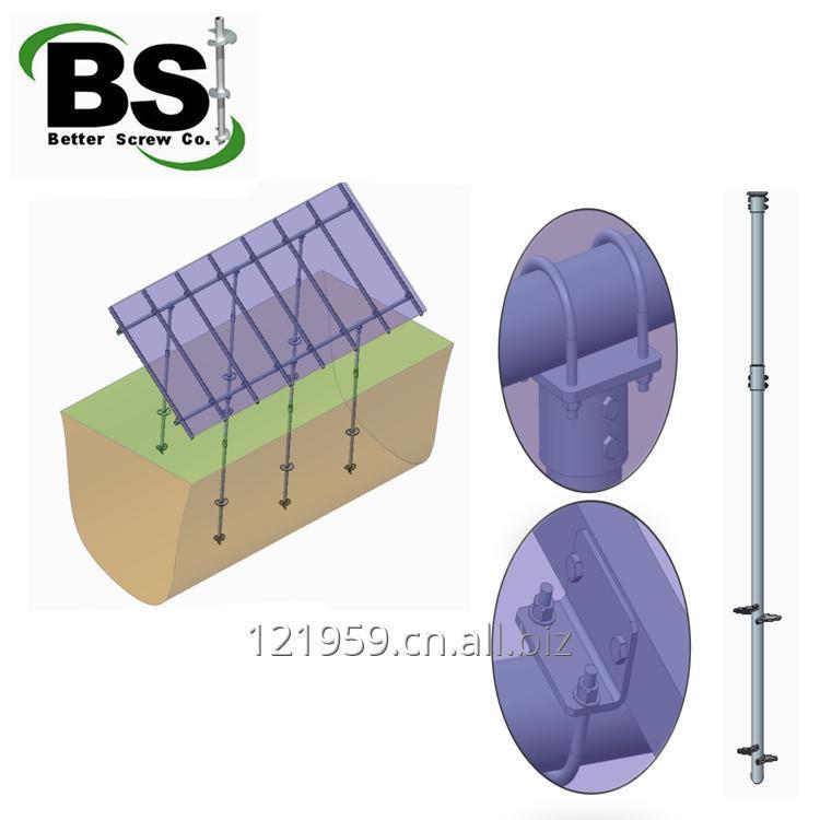 购买 [Copy] round shaft helical pile