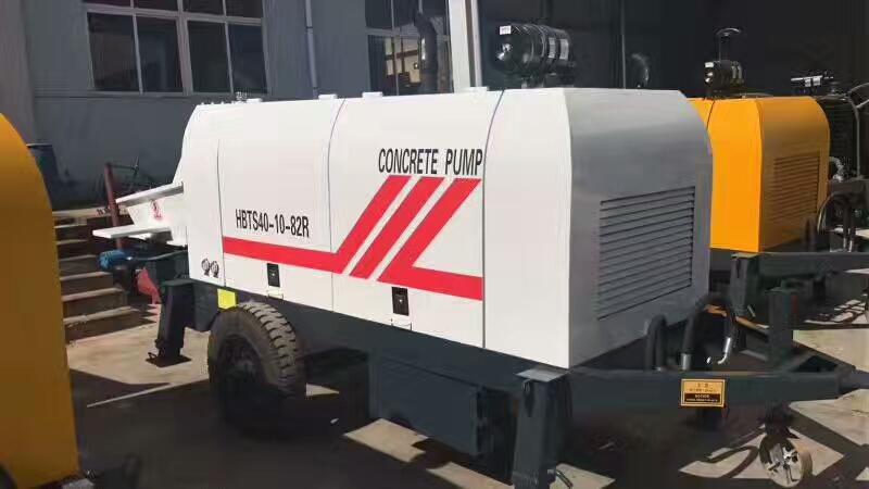 购买 40m³/h Diesel Type Trailer Mounted Concrete Pump