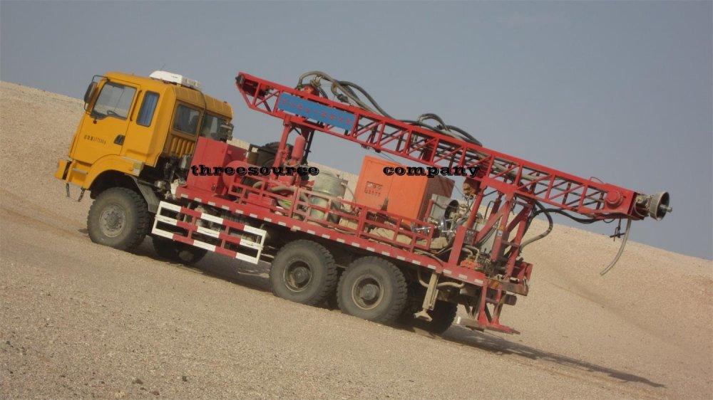 购买 TST-150 石油勘探卡车山地钻机