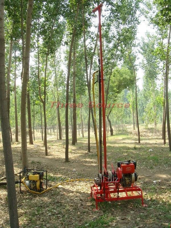 购买 人抬石油勘探钻机TSP-30
