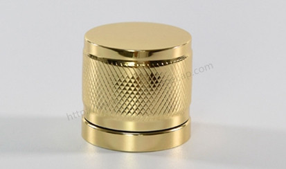 Buy Golden aluminum perfume cover