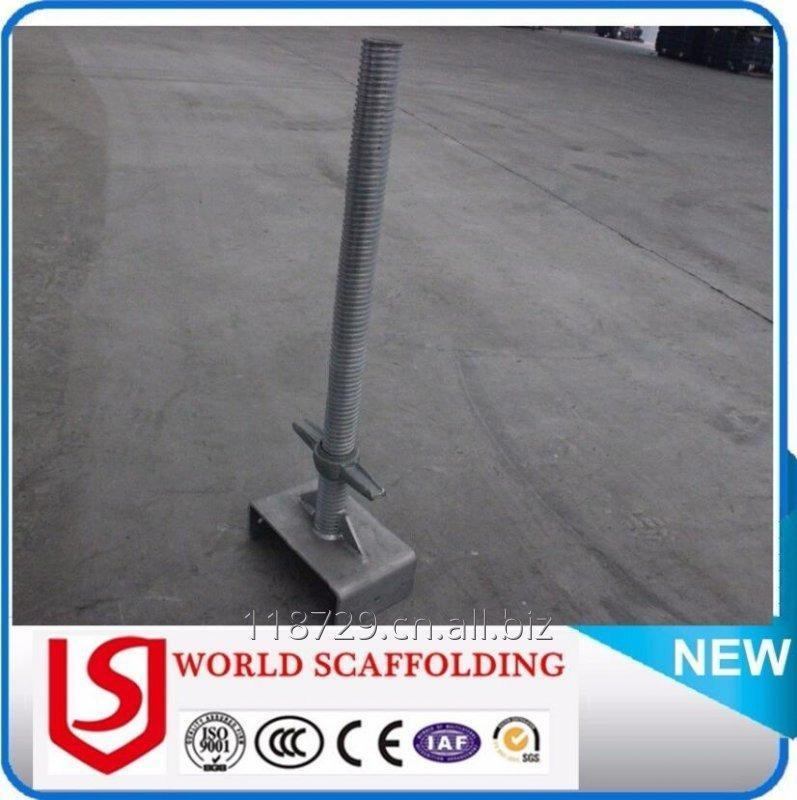 购买 U Head Jack Adjustable Scaffolding Screw Jack Supplier