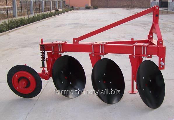 Unilateral Disc Plough. Model: 1LYQ-220