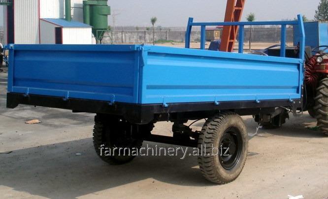 Common Single Axle Trailer. Model: 7C-3/7CX-3