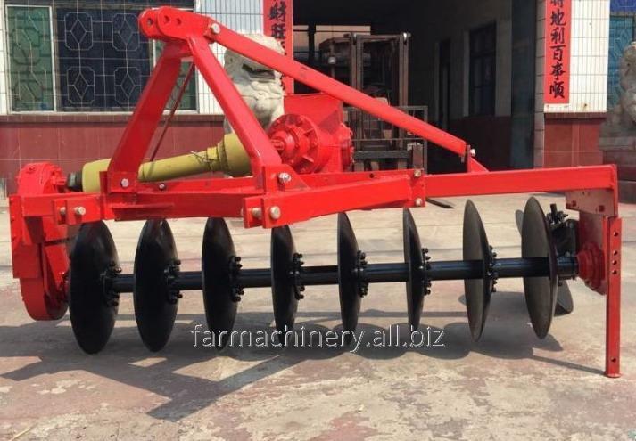 Driven Disc Plough. Model: 1LYQ-420