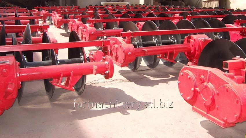 Driven Disc Plough. Model: 1LYQ-622