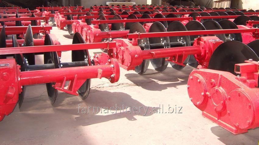 Driven Disc Plough. Model: 1LYQ-922