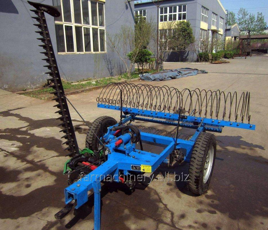 Hay Rake with Mower. Model: 9GBL-1.6