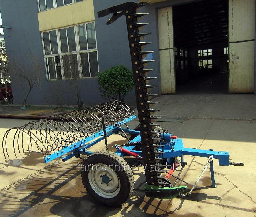 Hay Rake with Mower. Model: 9GBL-1.8