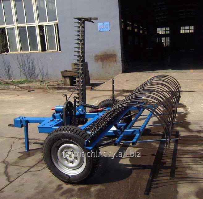 Hay Rake with Mower. Model: 9GBL-2.1