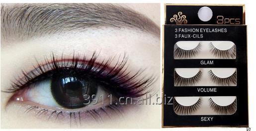 Buy False eyelashes, 3 pairs