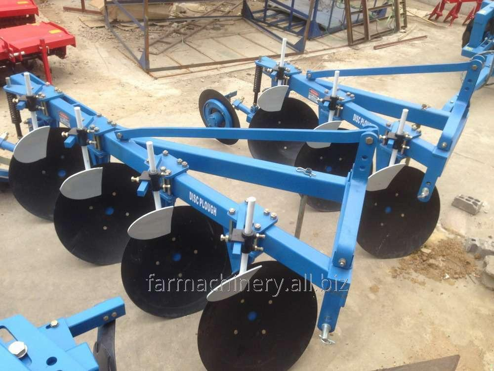 Unilateral Disc Plough. Model: 1LY(T)-430